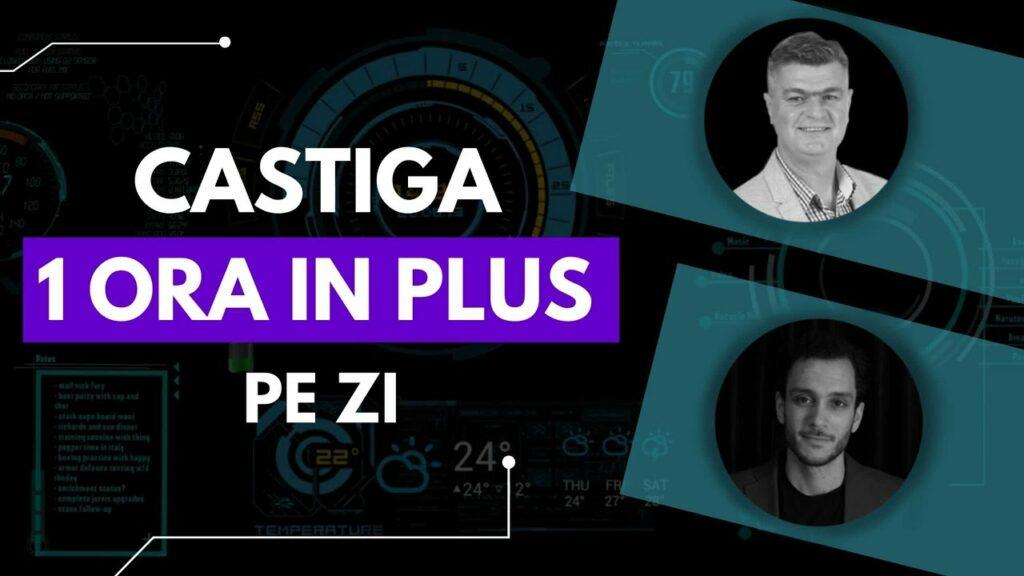 Cum să câștigi o ORA în plus pe zi cu Remus Bălan | Time Management